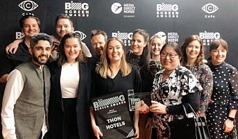 Thon Hotels fikk pris for reklamefilm på kino