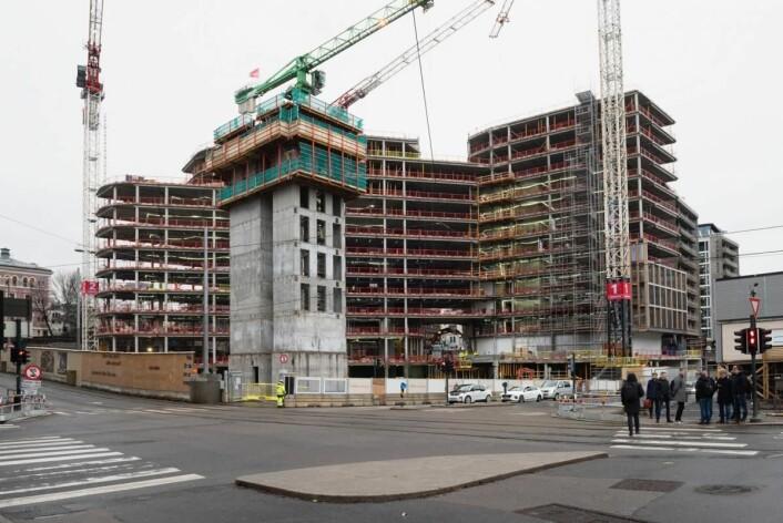 Via Vika er under bygging. (Foto: Finn Ståle Felberg)