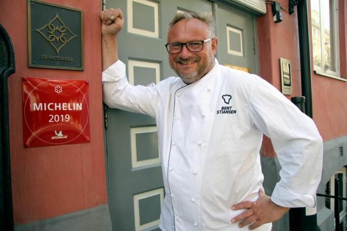 Bent Stiansen har drevet Statholdergaarden siden 1994. (Foto: Morten Holt)