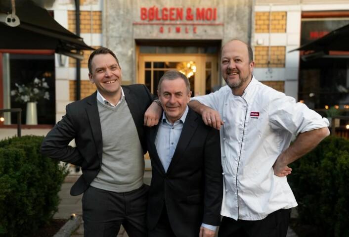 Harald Berger, Toralg Bølgen og Trond Moi. (Foto: Bølgen & Moi)