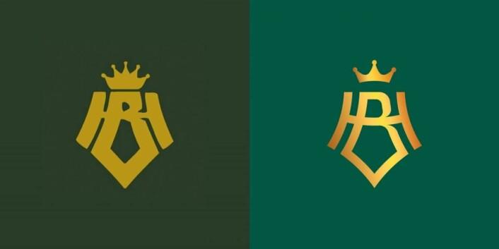 Til venstre det gamle emblemet, og til høyre det nye. (Illustrasjon: Hotel Bristol)