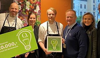 ISS-kantine i Nordeahuset fikk Matredderpris
