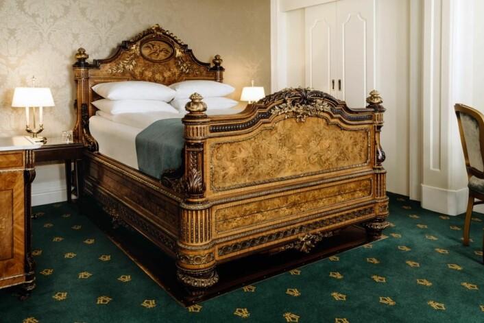–Det har vært viktig å bevare hotellets ærverdige historie, sier hotelldirektør Lars Petter Mathisen.
