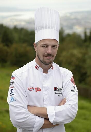 Thomas Ekenes-Fosback er kaptein på Community Catering-landslaget (Foto: Eirik Nilssen, Matbyrået Impuls)