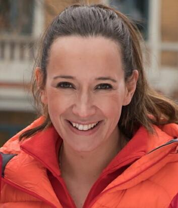 Nina Kristine Madsen-Geelmuyden. (Foto: Arctic Haute Route)