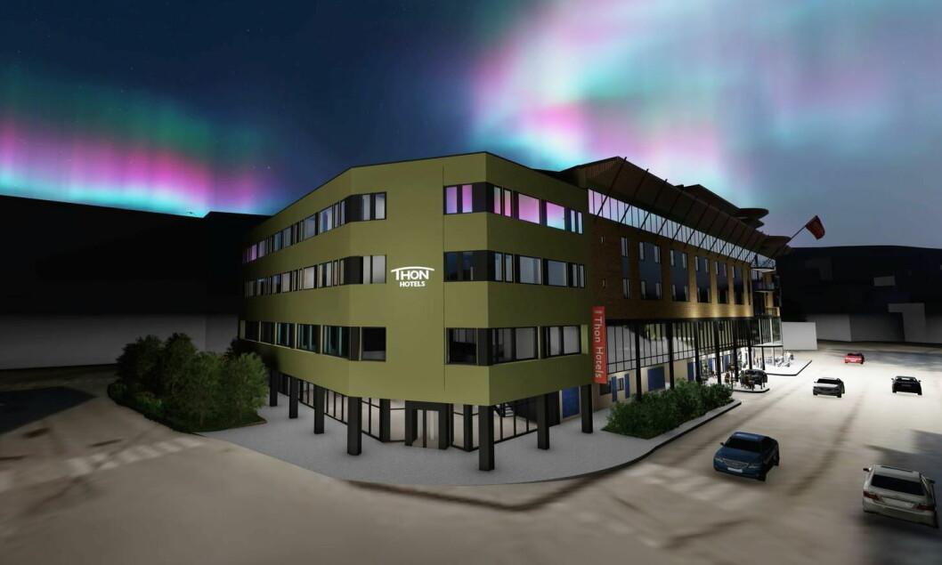 Illustrasjon: Consto/Thon Hotel Harstad