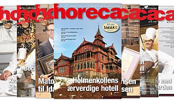 Årets første Horeca-magasin – med Smak-tema