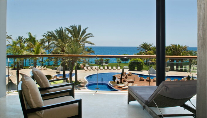 Utsikt fra Radisson Blu Resort Gran Canaria. (Foto: Radisson Hotel Group)
