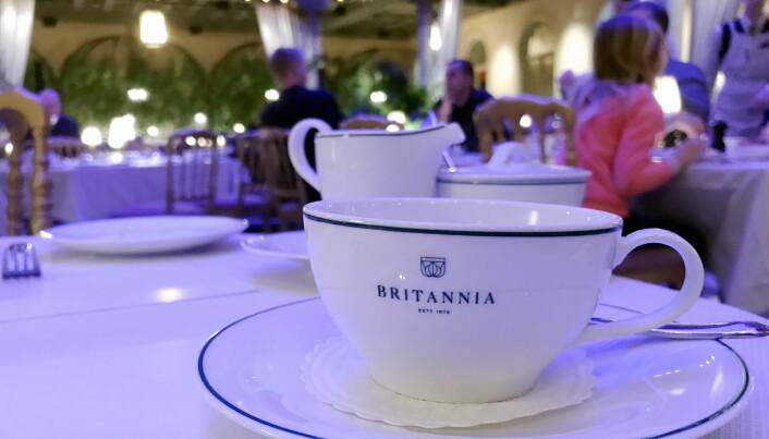 Spesialprodukter for Britannia Hotel. (Foto: Morten Holt)