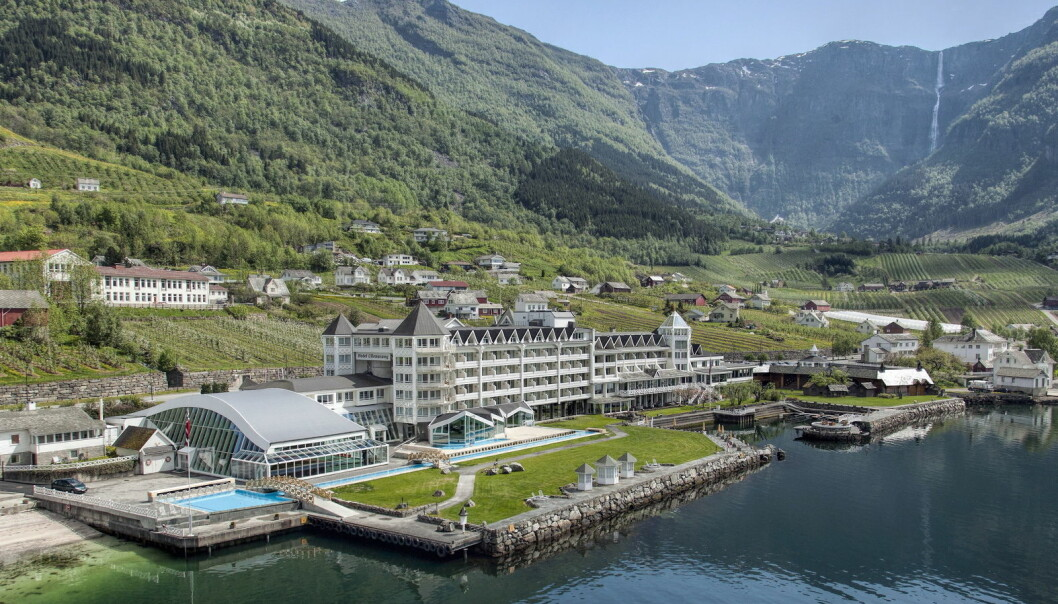 Hotel Ullensvang i Hardanger. (Foto: Hotel Ullensvang)