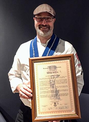 Daglig leder for Majorens Kro og Stue, Markus Nagele. (Foto: Majorens Kro og Stue)