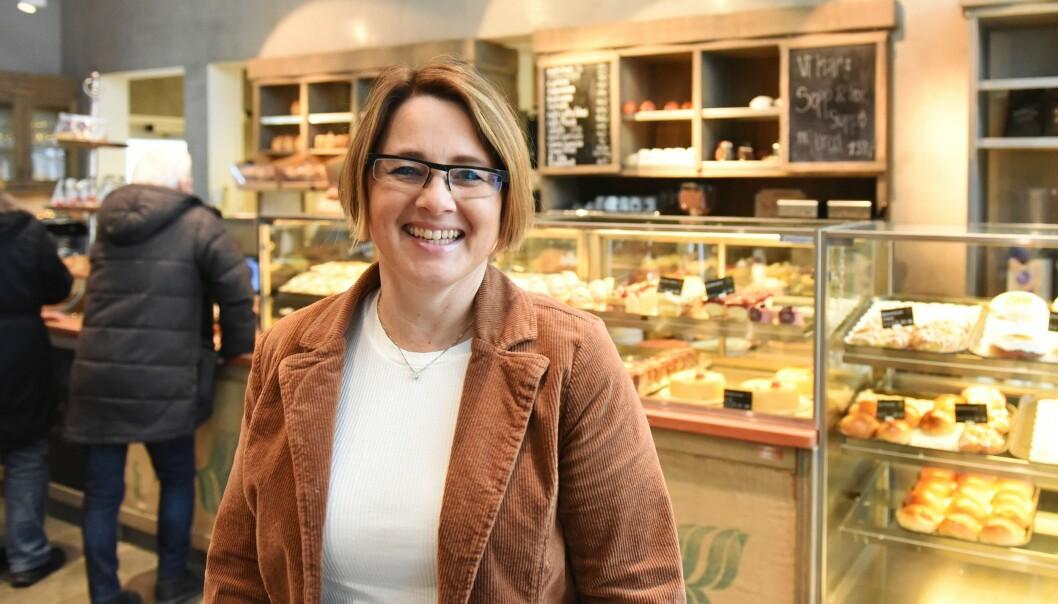 Juryleder i «Årets Bakeri 2020», Vigdis Myhre Næsseth, gleder seg over en variert liste med bakerier til årets kåring. Vinneren kåres 25. september 2020. (Foto: BKLF)