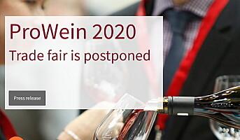 Avlyser ProWein 2020 på grunn av korona-viruset