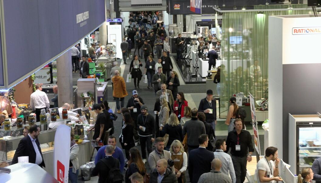 Ca. 14 200 mennesker har besøkt Smak 2020 de to første messedagene. (Foto: Morten Holt