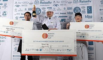 Vant Nordic Sushi Cup på Smak 2020