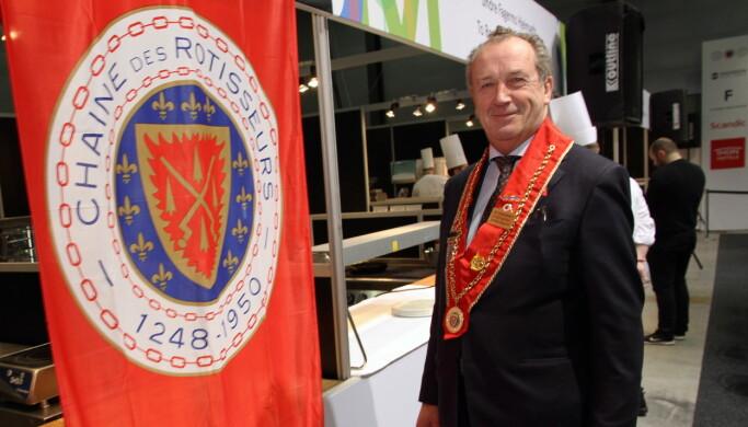 Styreleder for Chaîne des Rôtisseurs i Norge, Thore Sande. (Foto: Morten Holt)