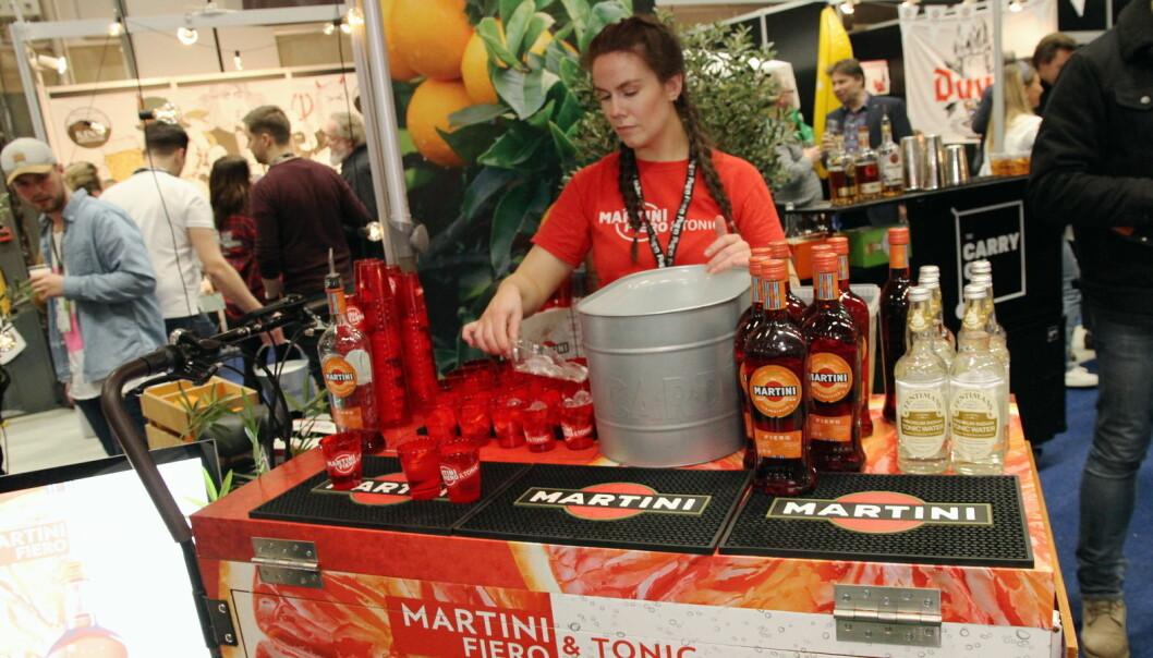 Martini Fiero - en nyhet. (Foto: Morten Holt)