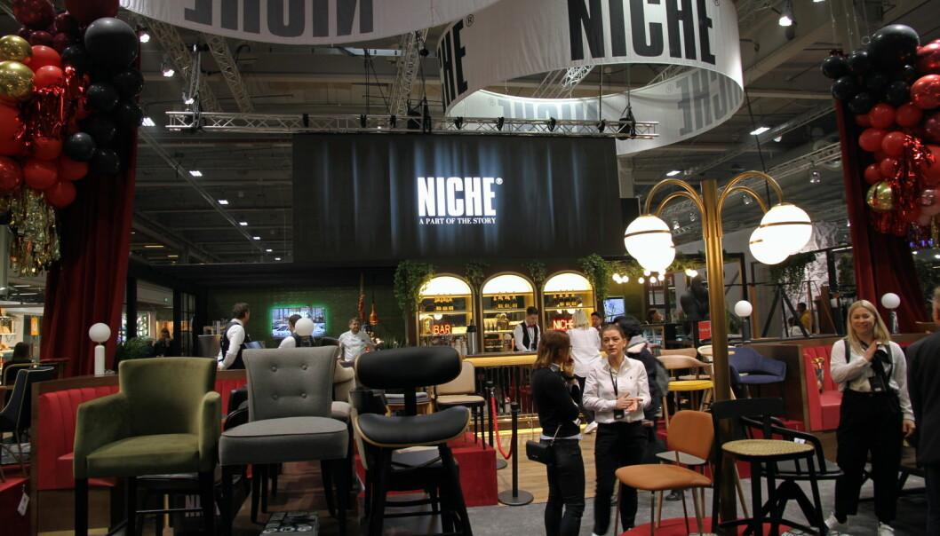Niches stand på Smak 2020. (Foto: Morten Holt=