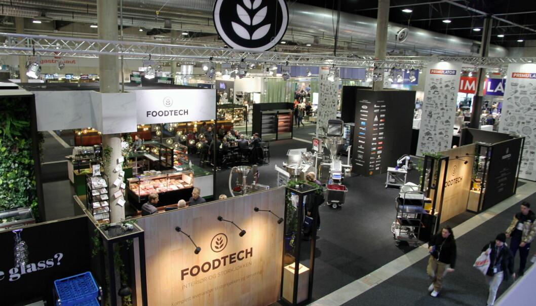Foodtechs stand på Smak 2020. (Foto: Morten Holt)