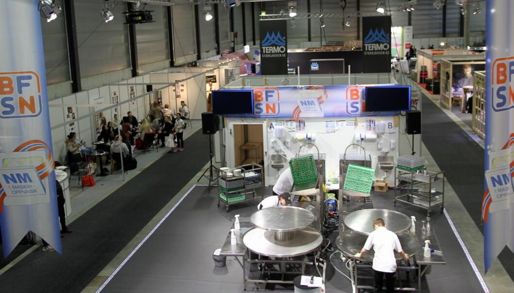 NM i maskinoppvask arrangeres av BFSN. (Foto: Morten Holt)