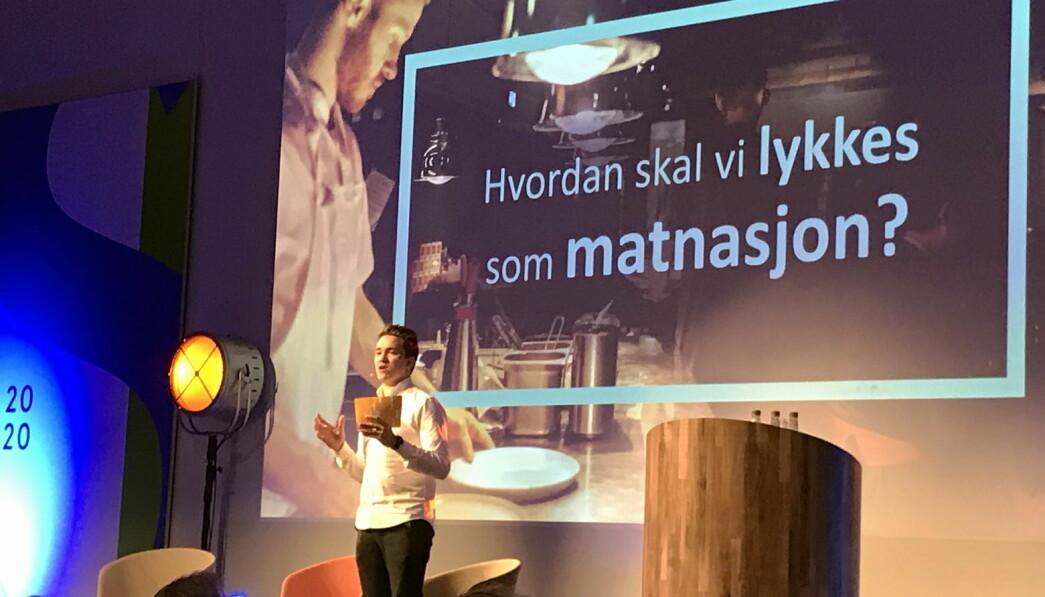 Christer Rødseth deltok på åpningskonferanser. (Foto: Morten Holt)
