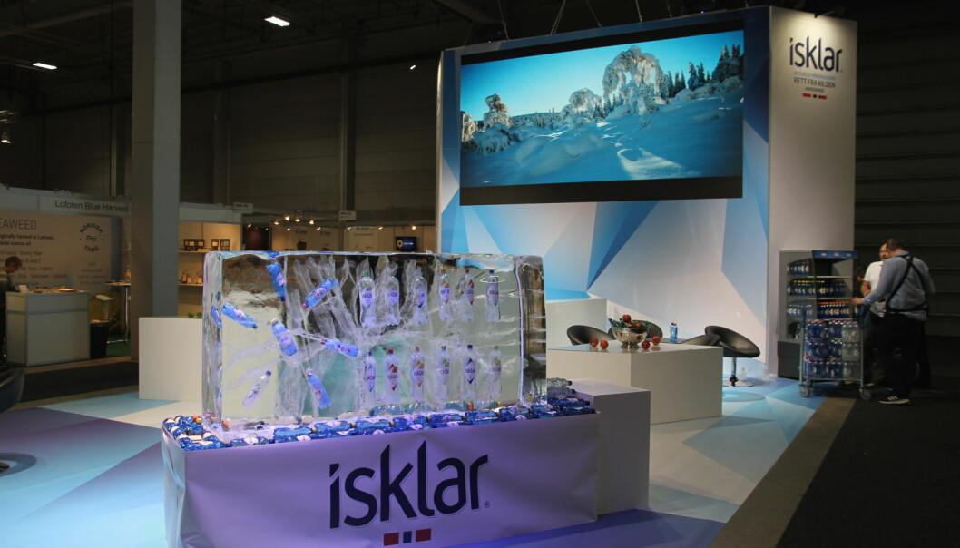 Isklars stand på Smak 2020. (Foto: Morten Holt)