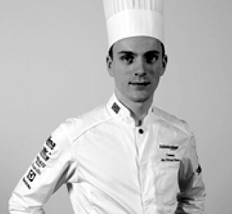 Jon Erlend Matre deltar for Norge i Nordic Young Chef. (Foto: NKL)