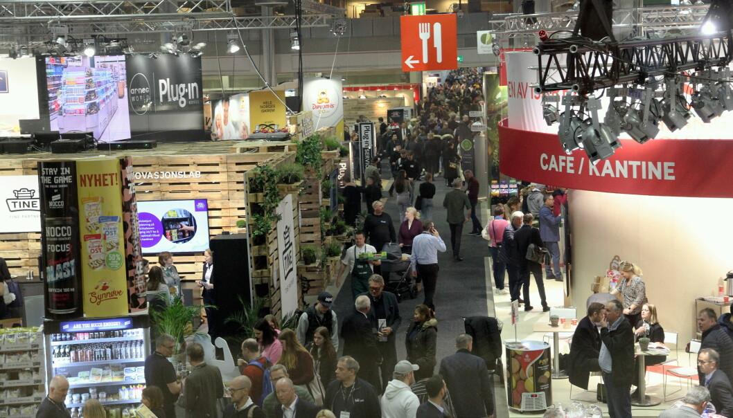 Smak 2020 ble den siste messen på Norges Varemesse på lenge. (Illustrasjonsfoto: Morten Holt)