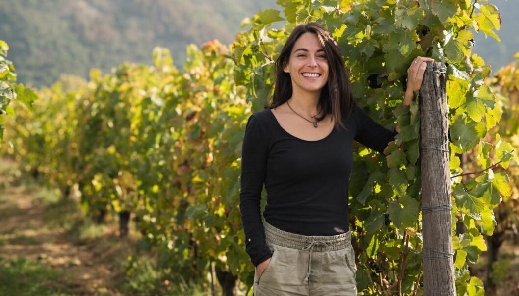 Noelia Orts er vinmaker hos Emiliana Organic Vineyards i Chile. (Foto Emiliana Organic Vineyards)