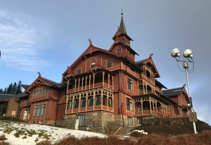 Scandic Holmenkollen Park. (Foto: Morten Holt)