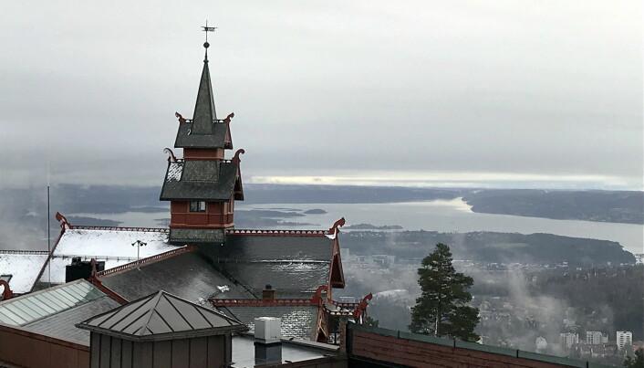 Utsikt mot Oslo og Oslofjorden. (Foto: Morten Holt)