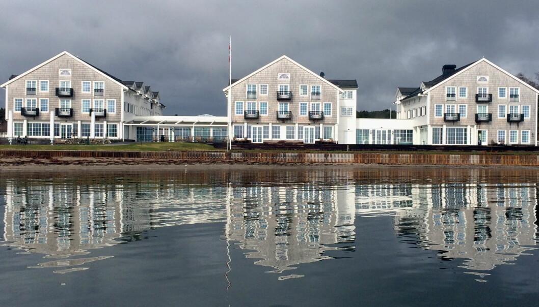 Støtvig Hotel stenges midlertidig. (Foto: Morten Holt)