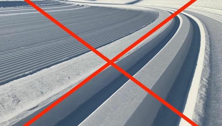 Skiløypene stenges på de store vintersportsstedene. (Foto: Visit Sjusjøen)