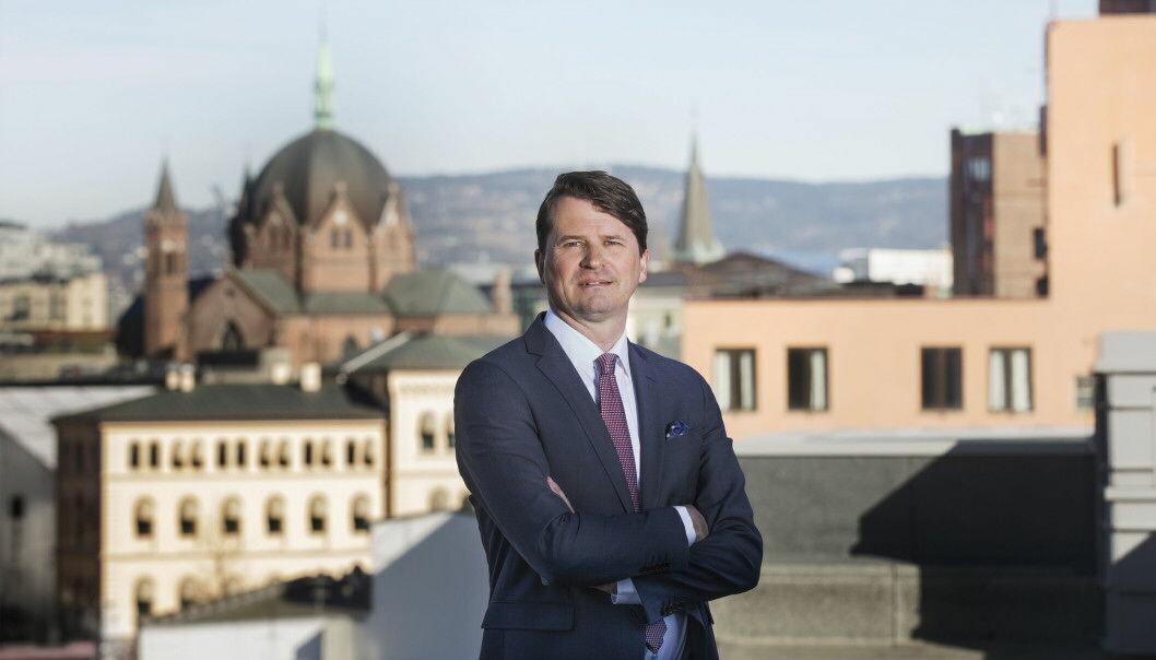 Visekonsernsjef Ole-Christian Hallerud. (Foto: Gry Traaen)