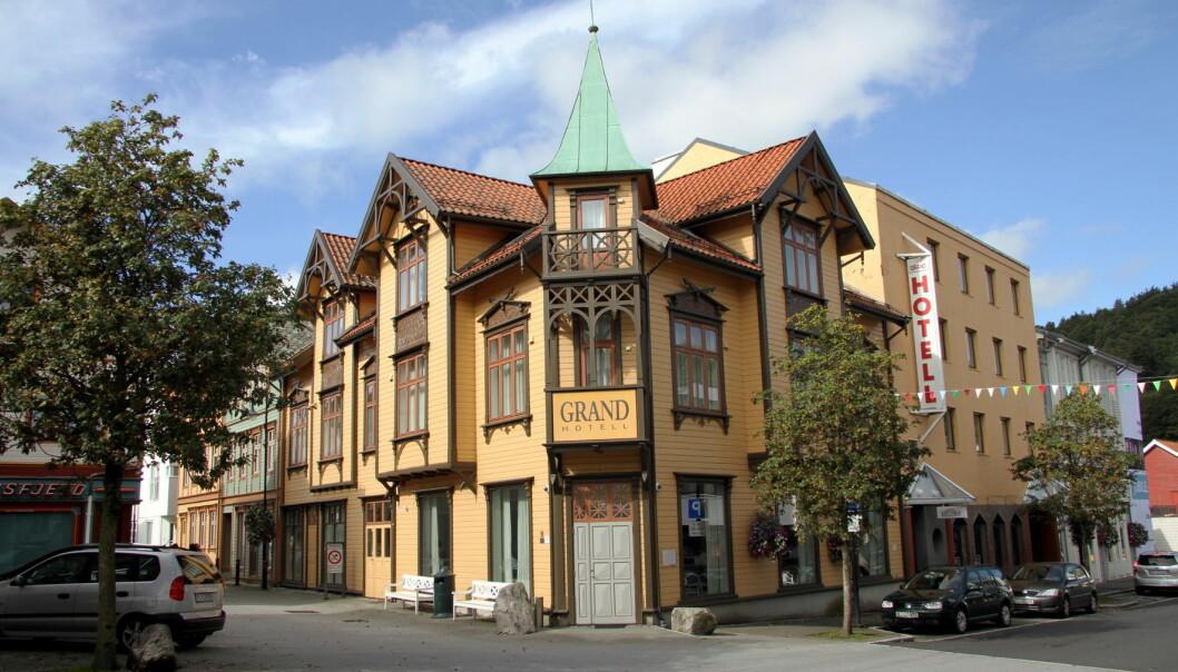 Grand Hotell Egersund. (Foto: Morten Holt)