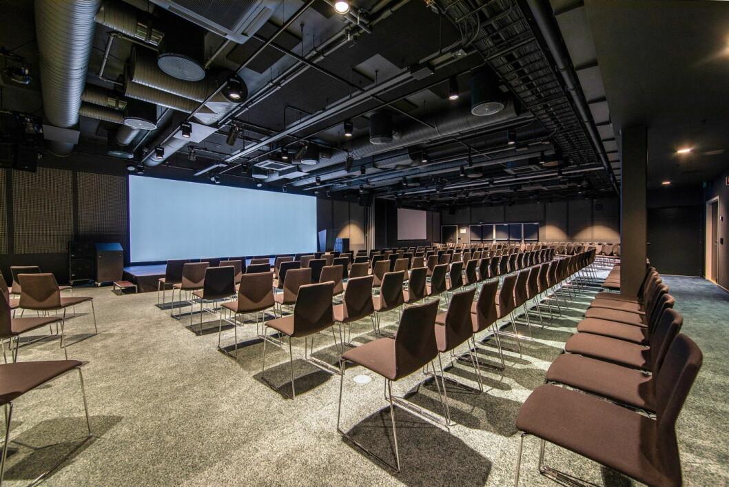 Store konferansesaler står klare til å ta imot varer eller annet. (Foto: Nordic Choice Hotels)