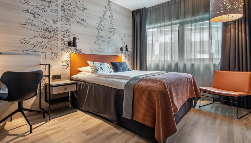 Mange rom står klare for å ta imot helsearbeidere, offentlig ansatte og andre som trenger skjerming og ro. (Foto: Nordic Choice Hotels)