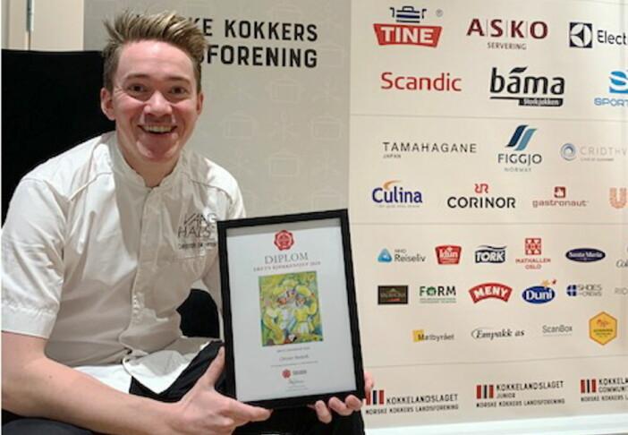 Christer Rødseth er Årets kjøkkensjef 2019. (Foto: NKL)