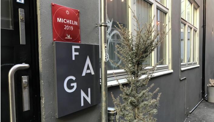 En av Norges 11 Michelin-restauranten, Fagn. (Foto: Morten Holt)