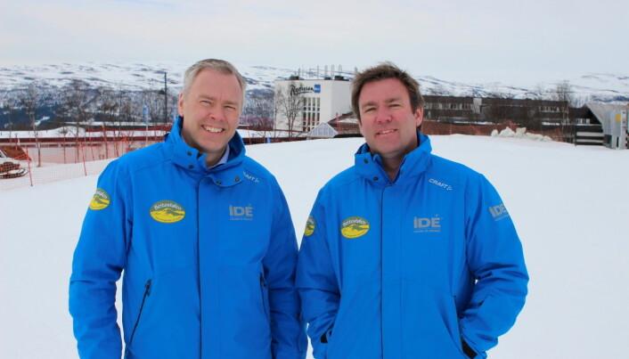 Brødrene Bjørnar til venstre og Atle Hovi eier og driver fyrtårnselskapet Beitostølen Resort. (Foto: DestinasjonsKirurgene)