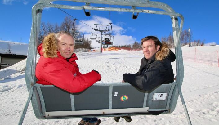 Atle (til venstre) og Bjørnar Hovi. (Foto: DestinasjonsKirurgene)