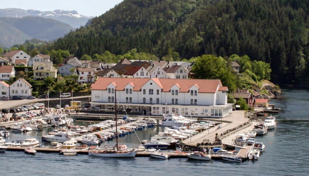 Ryfylke Fjordhotell. (Foto: Ryfylke Fjordhotell)