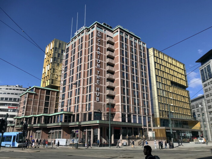 Clarion Hotel The Hub. (Foto: Morten Holt)