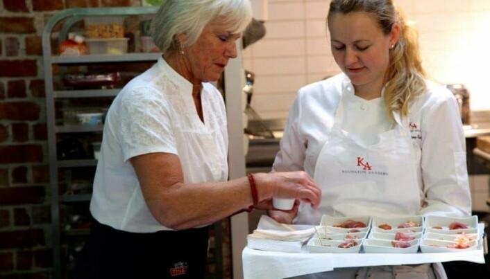 Elise Rønning (til høyre). (Foto: Privat)