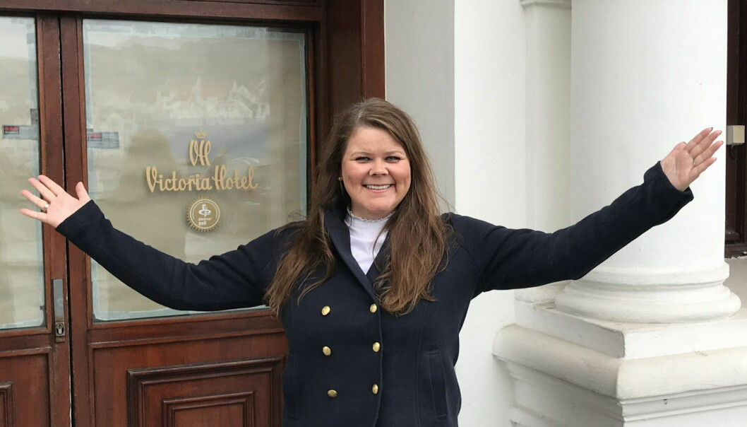 Monica Sandvold blir hotelldirektør på Hotel Victoria. (Foto: Privat)