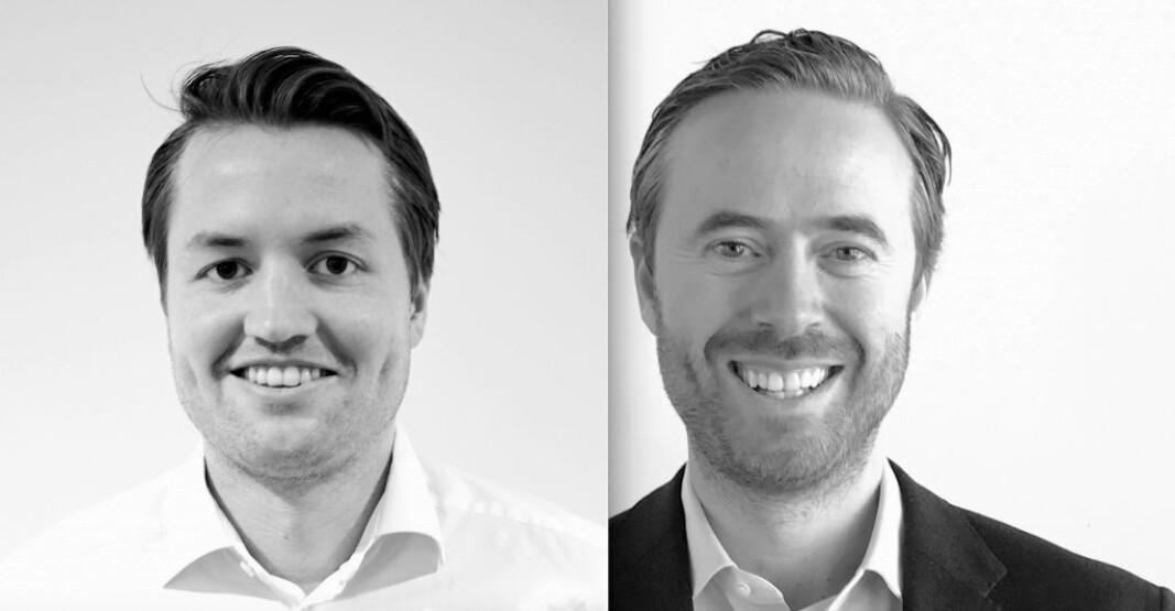 Georg Eikeland Schanche og Stian Løken Blom er nye konserndirektører i Tomagruppen. (Foto: Tomagruppen)