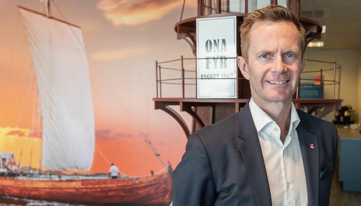 Administrerende direktør for Classic Norway Hotels, Stephen Meinich-Bache. (Foto: Christer Olsen/Classic Norway) Hotels