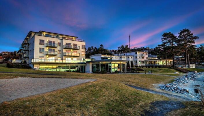 Strand Hotel Fevik er perfekt både for par som vi ha en romantisk ferie og for familier. (Foto: Morten Holt)S