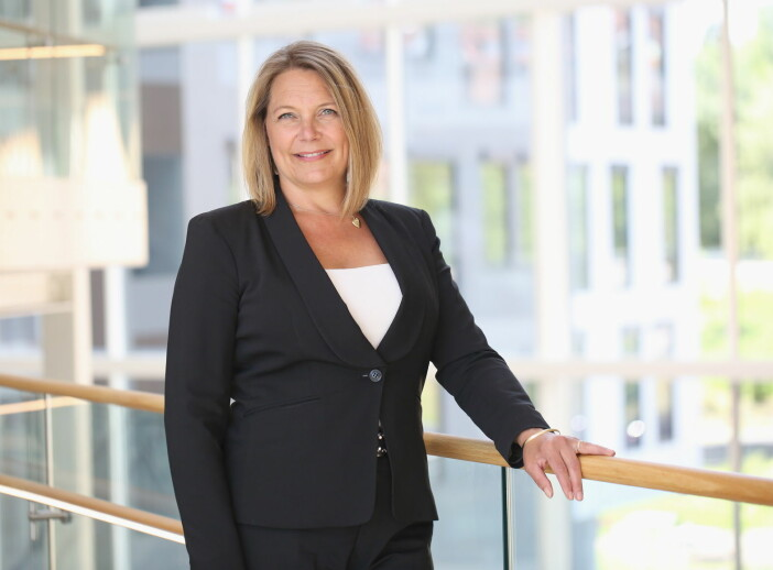 Direktør for food og kommersiell sektor i Compass Group, Pernille Christensen. (Foto: Britt Krogsvold Andersen)