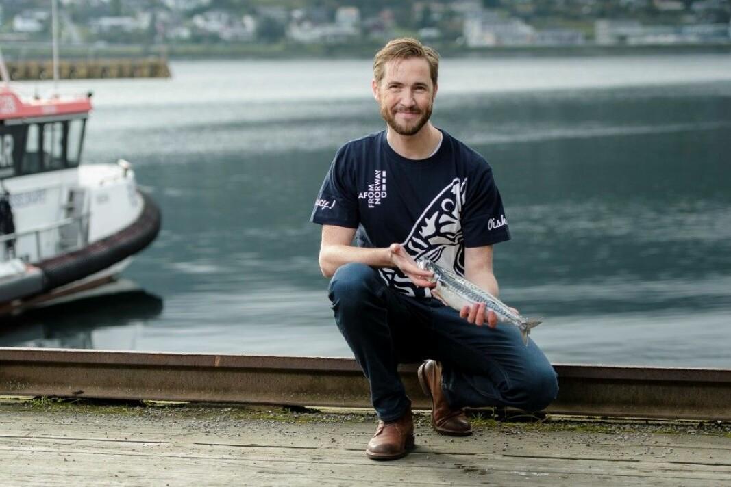 Gunvar L. Wie er sjømatrådets fiskeriutsending i Japan (Foto: Norges sjømatråd).